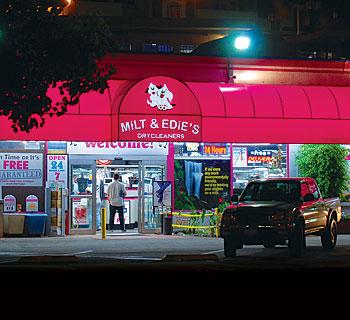 Milt & Edie's front entrance