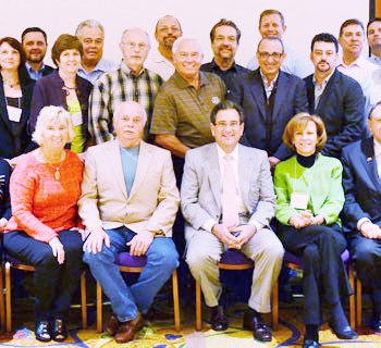group photo of five-star conference