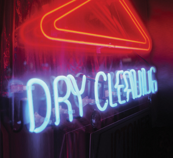 Dry cleaning neon