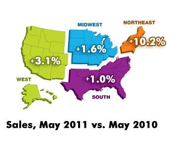 June StatShot map