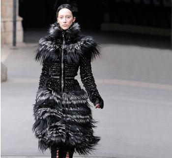 sheath dress from Alexander McQueen
