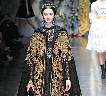 Baroque fashion image