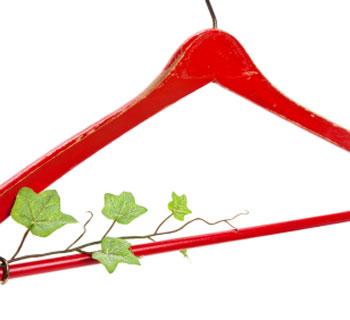 green hanger dryclean