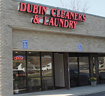 Dubin Cleaners' exterior