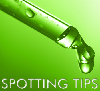 spotting tips