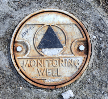 groundwater well cap